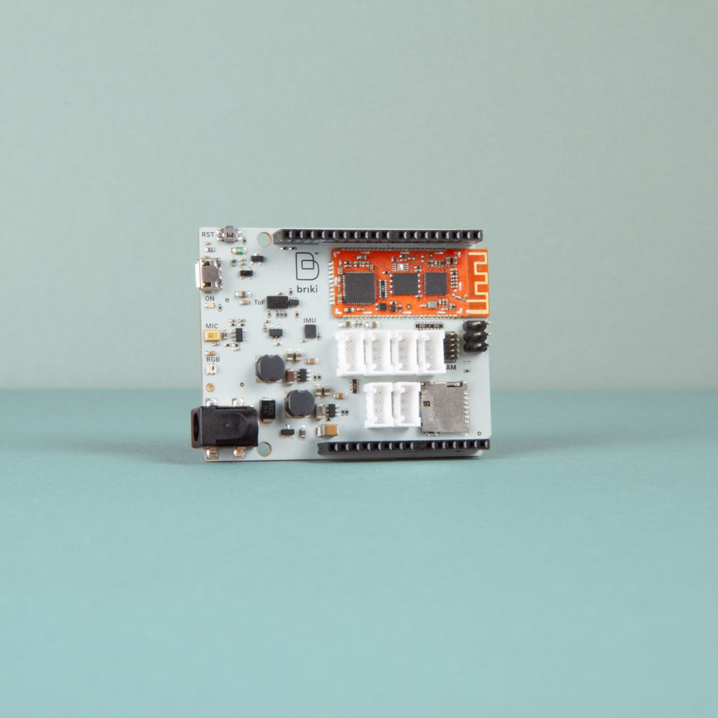 Briki ABC electronic module designed by Meteca